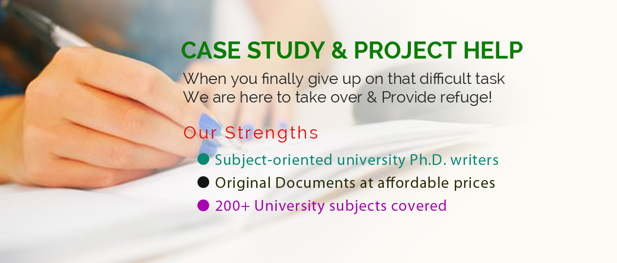 Case Study & Project Help